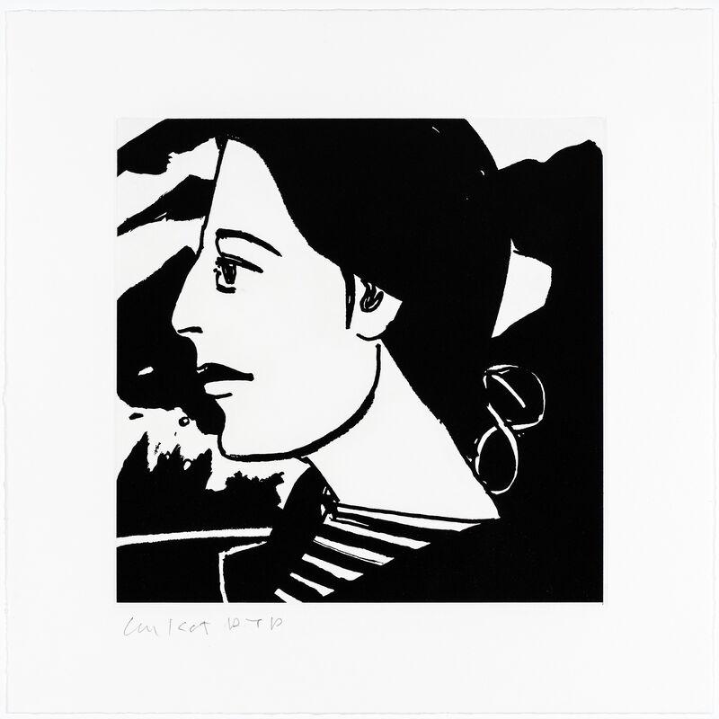 Alex Katz, 'Ada #7', 2017, Print, Etching, Galerie Raphael