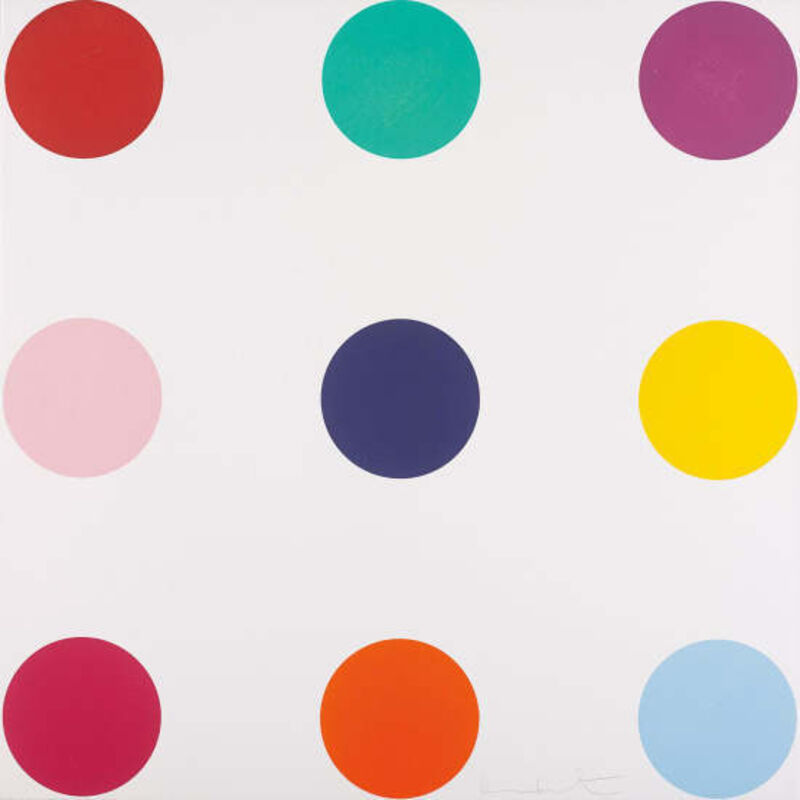 Damien Hirst, 'Tryptophan', 2010, Print, Woodcut in colours on Somerset White textured paper, Joseph Fine Art LONDON
