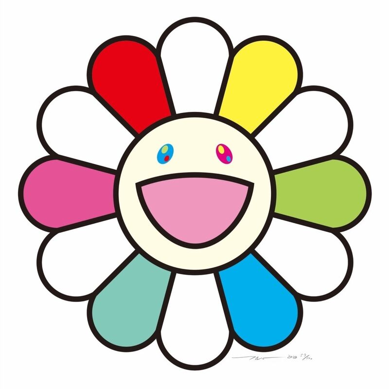 Takashi Murakami, 'Smile every day with flowers!', 2020, Print, Silkscreen, Pinto Gallery