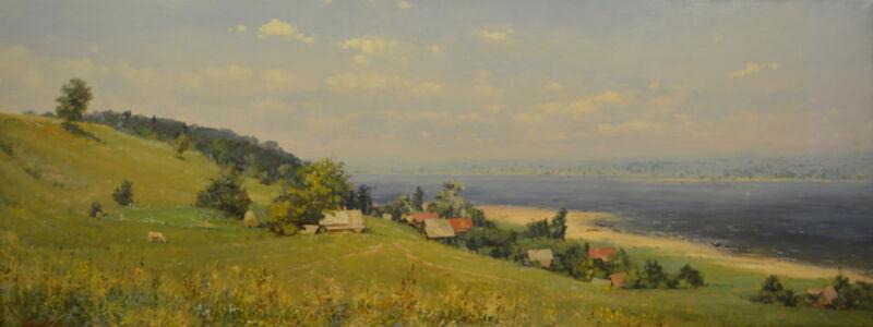 Oleg Aleksandrovich Leonov, 'Small Village', 1999