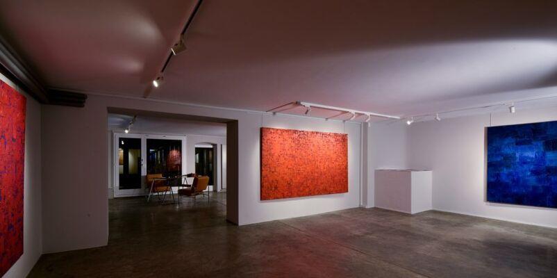 Wu Hao, Peintures, installation view