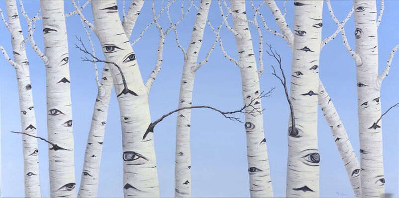 C. J. Lori - Close To the Trees, installation view