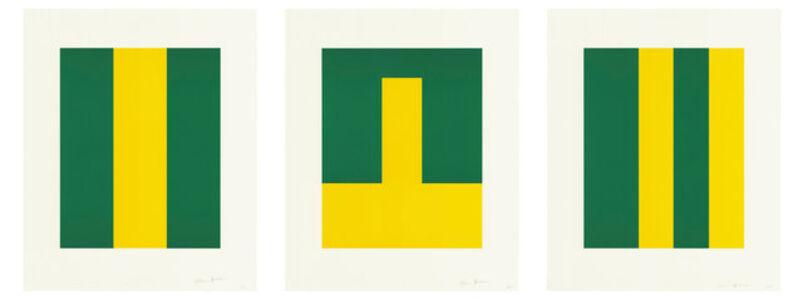 Carmen Herrera, 'Verde y Amarillo', 2017
