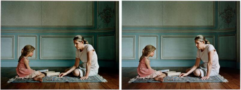 Sharon Lockhart, 'Maja and Elodie', 2003