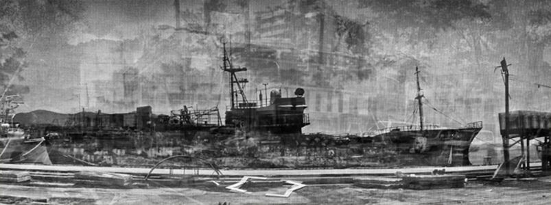 Ariel Ballester, 'Construir la memoria - street view - Kesennuma III'