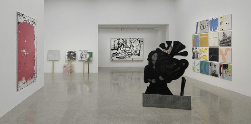 Painting 2.0: Expression in the Information Age, installation view