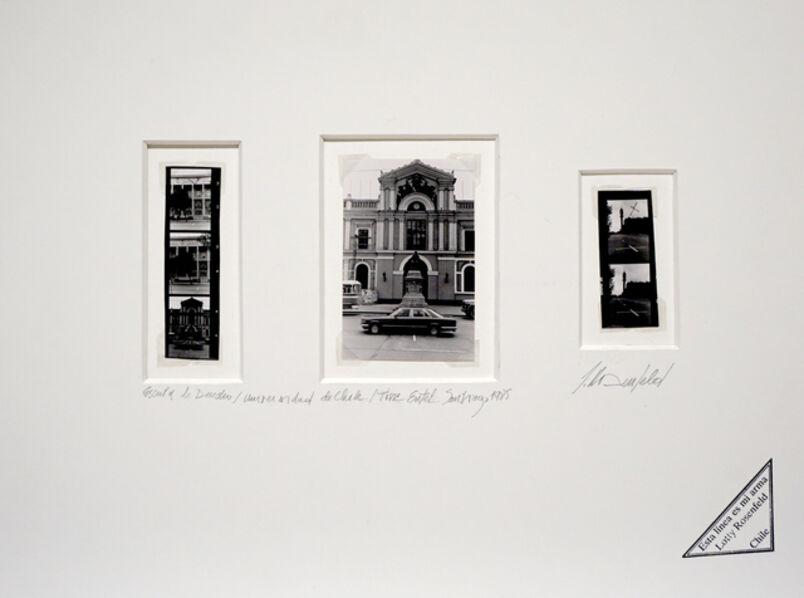 Lotty Rosenfeld, 'Universidad de Chile', 32000
