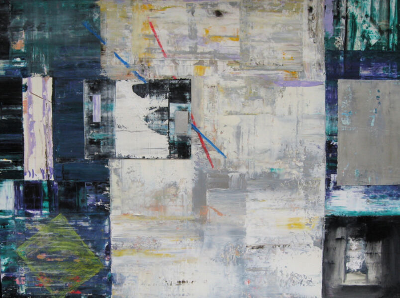 Doug Frohman, 'End Game, Oil, Oil-stick, Colored Graphite on Arches Paper', 2011