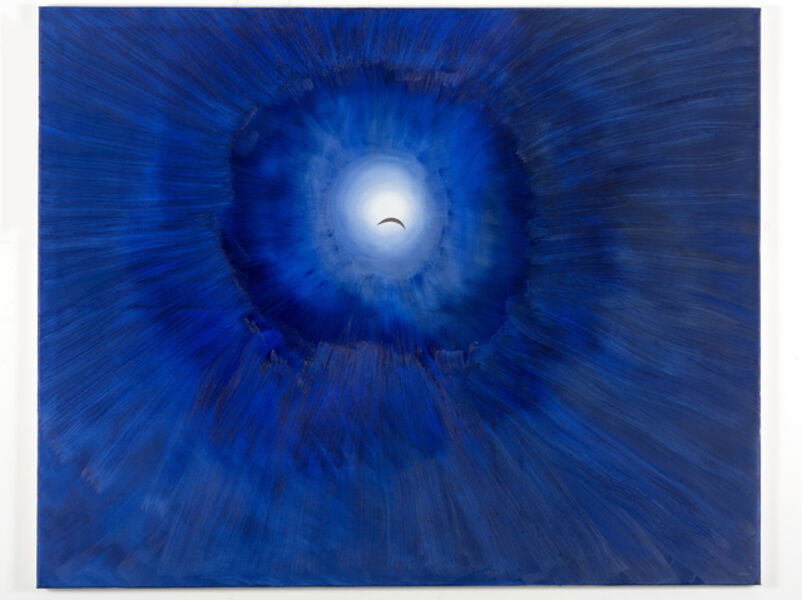 Nedko Solakov, 'Paintings with No Texts #9 (A Dead Moon)', 2012