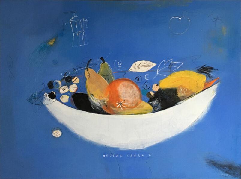 Regina Saura, 'Frutero de Porcelana', 1995