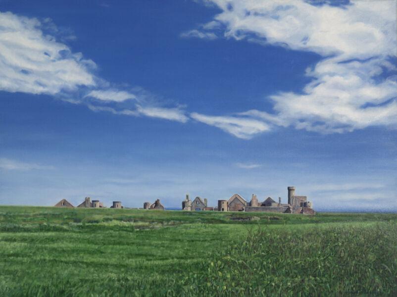Agnes Murray, 'Approaching Slains Castle 2', 2020