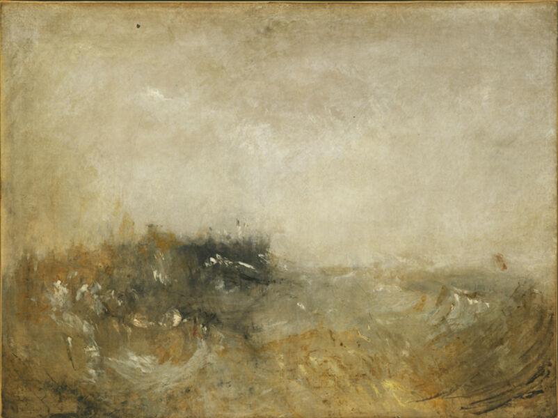 J. M. W. Turner, 'Rough Sea', 1840-1845