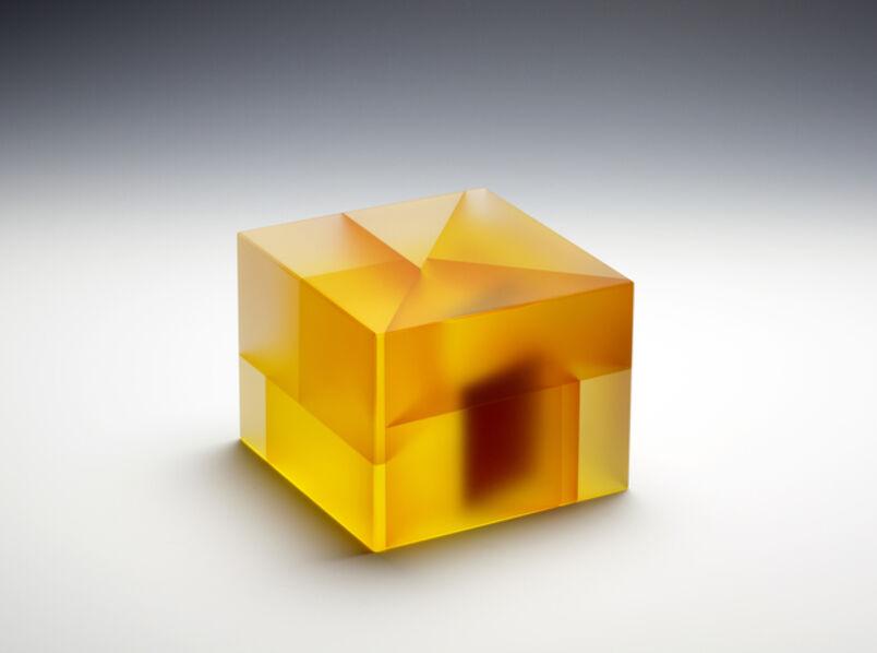 Jiyong Lee, 'Yellow Red Cuboid Segmentation', 2017