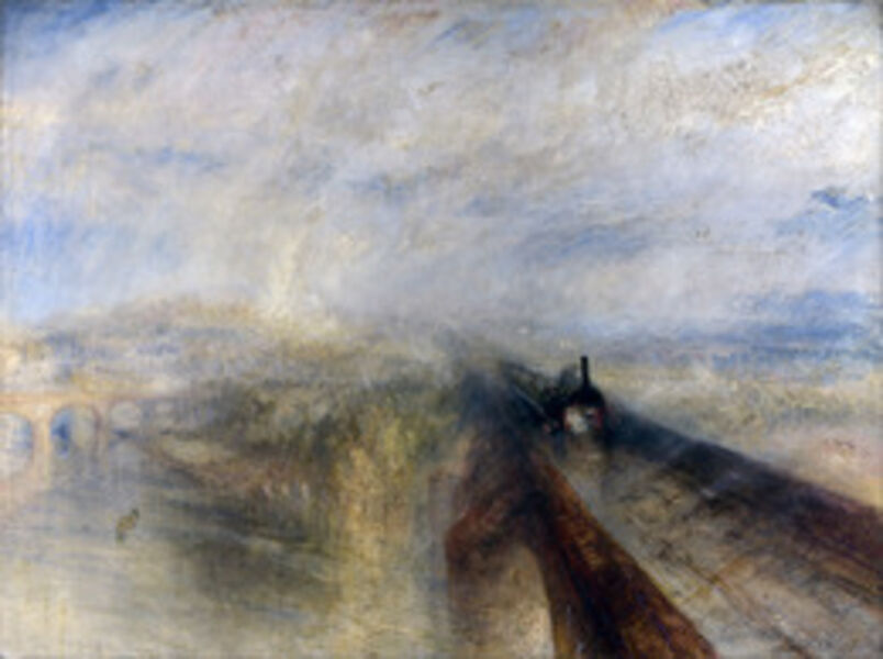 J. M. W. Turner, 'Rain, Steam and Speed-The Great Western Railway', 1844