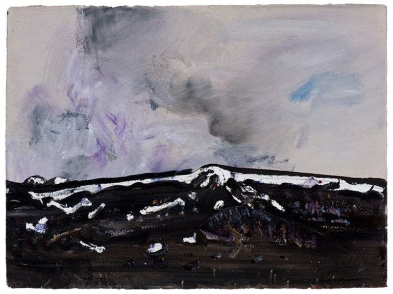 Fred Williams, 'Storm Cloud, Kosciusko I', 1975