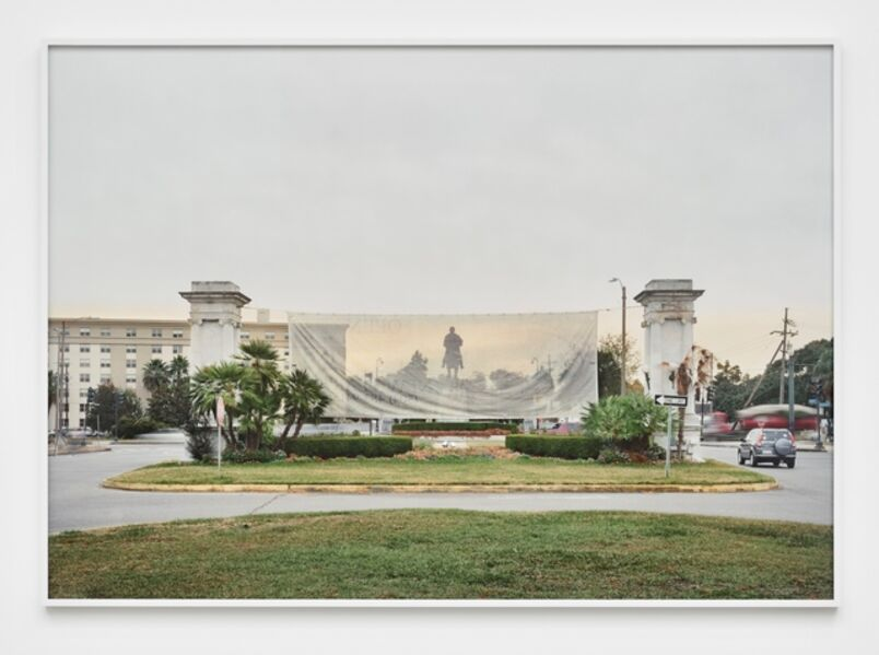 An-My Lê, 'Monument, General P.G.T. Beauregard, New Orleans, Louisiana, from The Silent General', 2016
