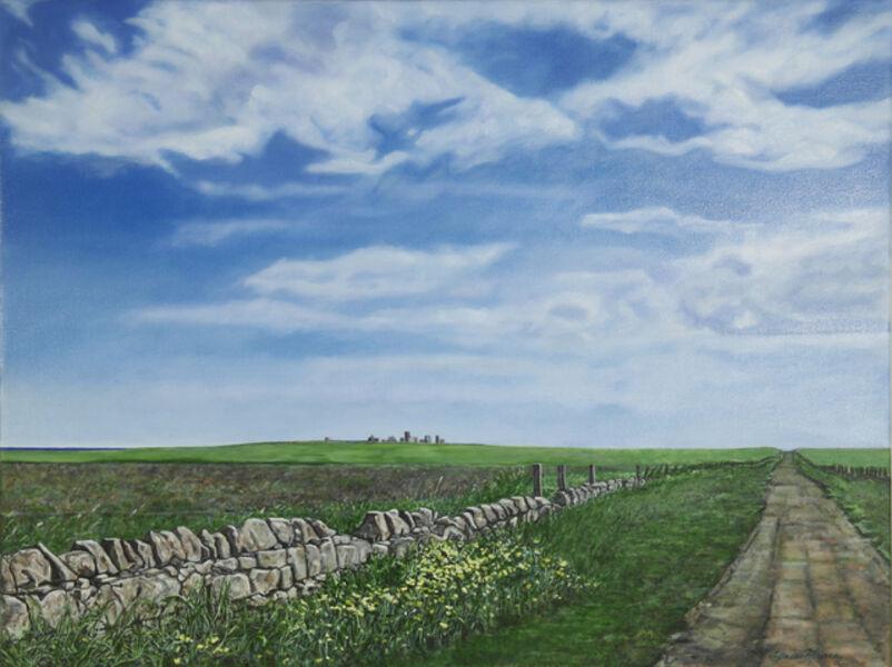 Agnes Murray, 'Approaching Slains Castle 1', 2020