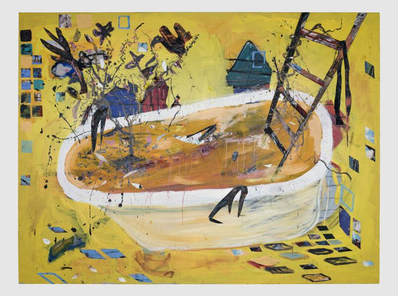 Angel Otero, 'Painter's Bath', 2020