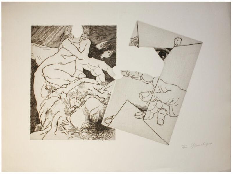 Jean Robert Ipoustéguy, 'Hommage à Michelangelo', 1975