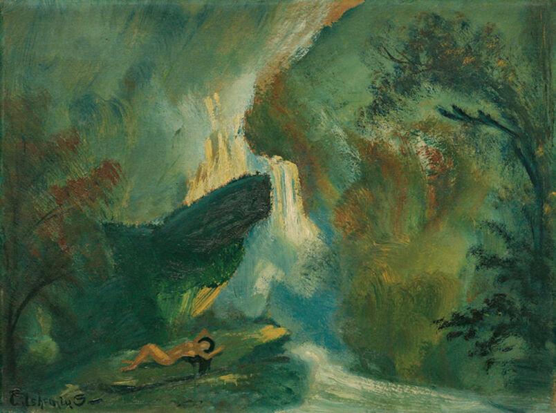 Louis Michel Eilshemius, 'Shining Waters', ca. 1920