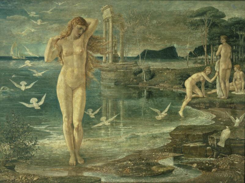 Walter Crane, 'The Renaissance of Venus', 1877