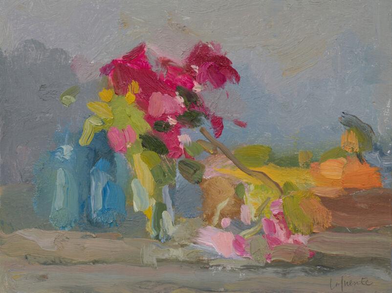 Christine Lafuente, 'Bougainvillea, Coral Vine, and Fruit', 2020