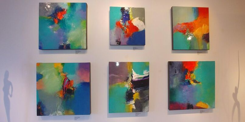 Javier López Barbosa: Communing with the Canvas, New Works, installation view