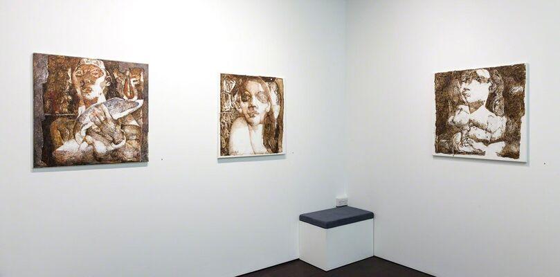 Jamil Naqsh | Echoes, installation view