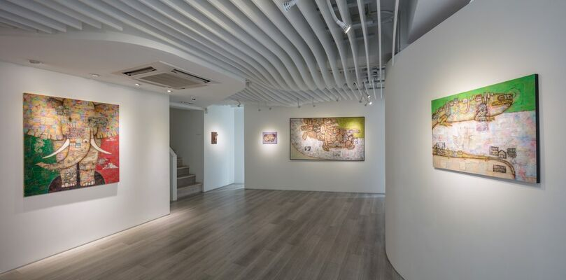Yuji Kanamaru, installation view