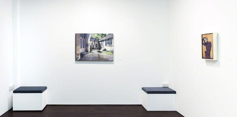 Pontone Gallery Collection | Emil Alzamora - Mari Kim - Malcolm Liepke - Matteo Massagrande, installation view