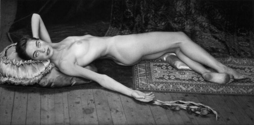 Matthias Leupold. Female beauty. Open-air photographic studies, installation view