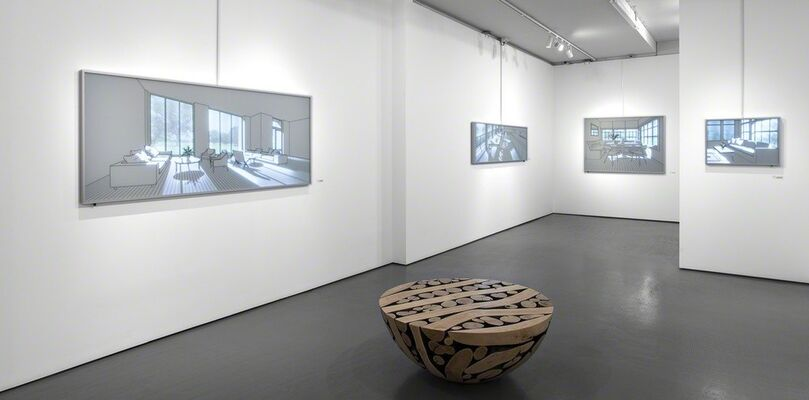 Hwang Seontae | Between Light and Space, installation view