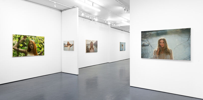 Yigal Ozeri | Insistently Real, installation view