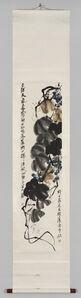 Qi Baishi, 'Grapes and Vine', ca. 1920