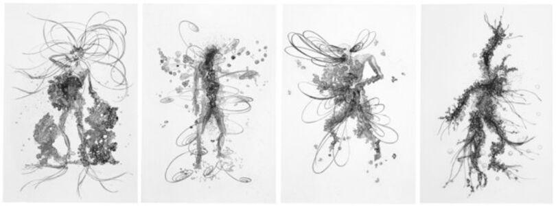 Matthew Ritchie, 'His Children, Her Garden, His Book, Her Country', 2009
