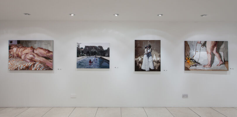 Young Korean Painters, installation view
