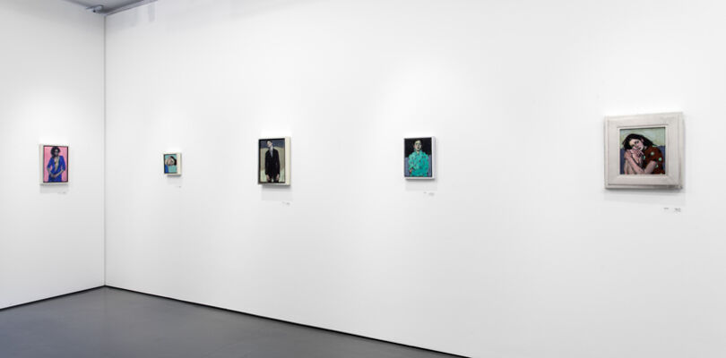 Malcolm Liepke  | Studies in Emotion, installation view