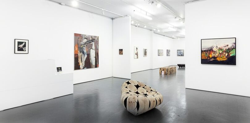 British Painters | Imagined Worlds, installation view