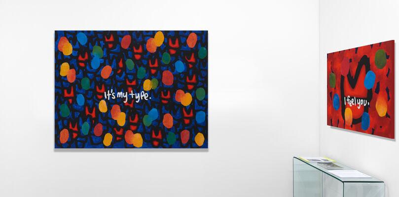 JIHI   Digital Graffiti, installation view