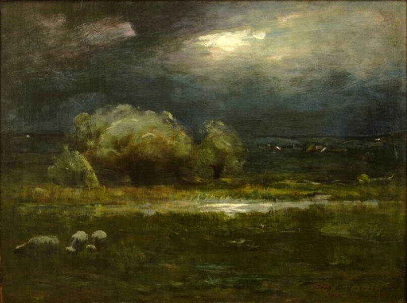 Charles Melville Dewey, 'Moonlight Nocturne', ca. 1905