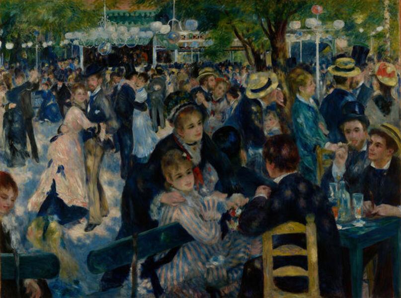 Pierre-Auguste Renoir, 'Dance at Le Moulin de la Galette (Bal du moulin de la galette)', 1876