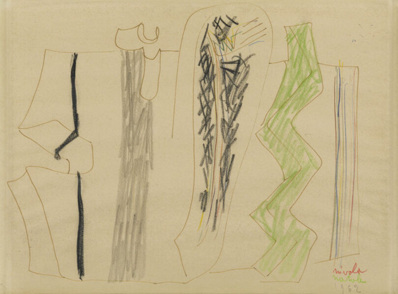 Costantino Nivola, 'Untitled', 1962