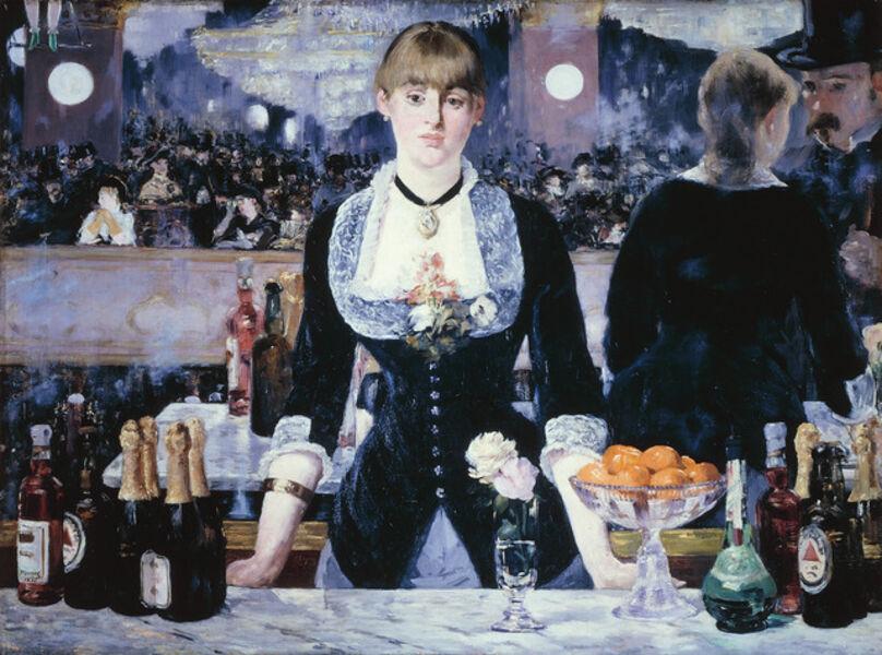Édouard Manet, 'A Bar at the Folies-Bergère', 1881-1882