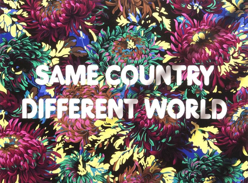 Adam Mars, 'Same Country, Different World', 2018