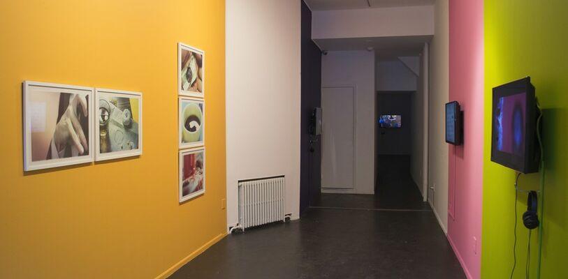 "George Jenne - ""Quietly, Karen Black"", installation view"