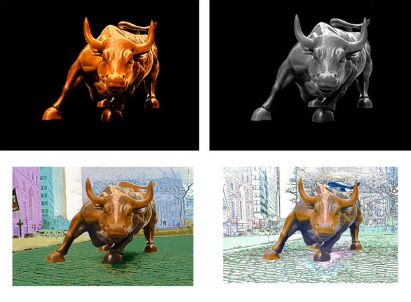 Arturo Di Modica, 'Charging Bull Print Set', 2019
