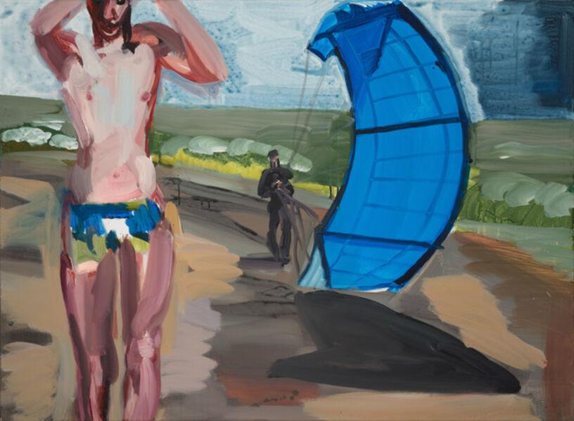 Rainer Fetting, 'Boy mit Kite', 2018