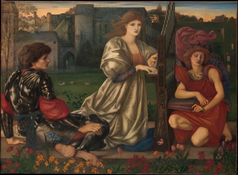 Sir Edward Burne-Jones, 'The Love Song', 1868–1877