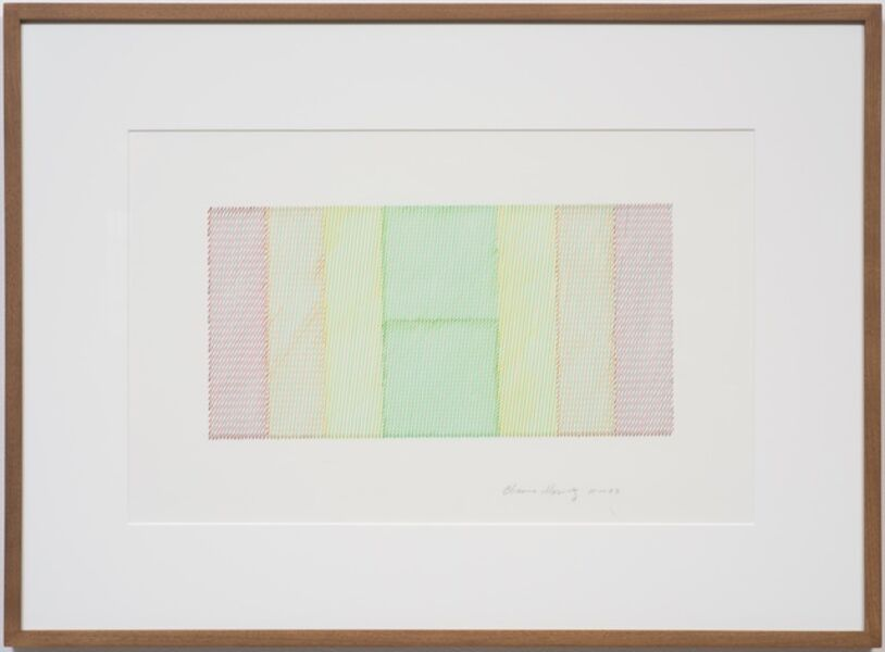 Channa Horwitz, 'Moiré (With Angle Motif)', 1983