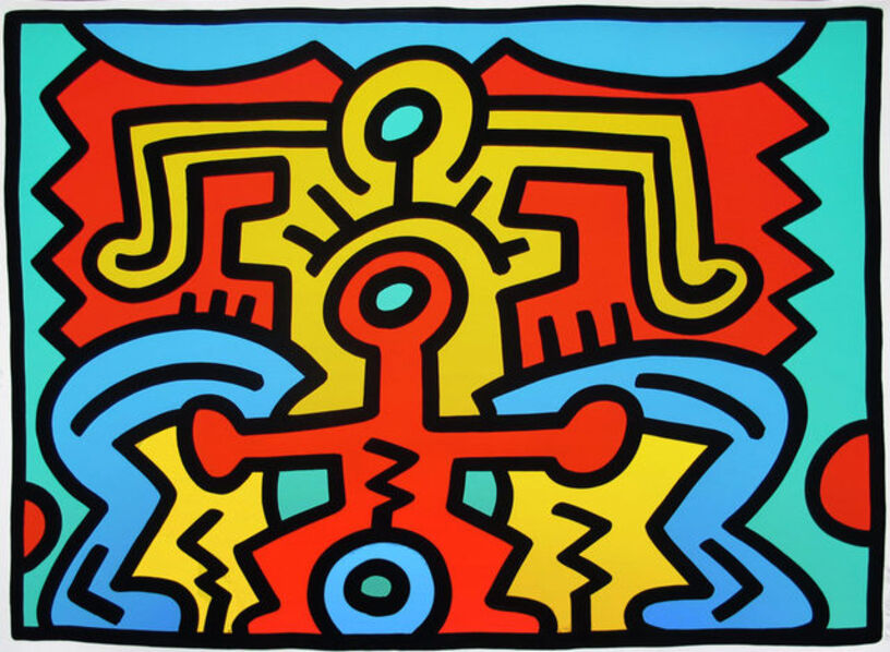Keith Haring, 'Growing #5', 1988